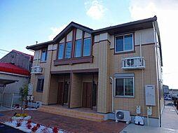 愛知県北名古屋市法成寺法師堂の賃貸アパートの外観