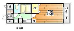 レイナ錦織[4階]の間取り