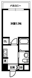 エスリード新大阪SOUTH[8階]の間取り