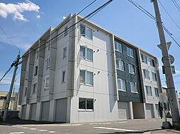 北海道札幌市東区北十八条東15丁目の賃貸マンションの外観