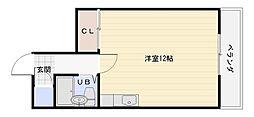 ツインズマンション[2階]の間取り