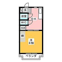 エトワール[1階]の間取り