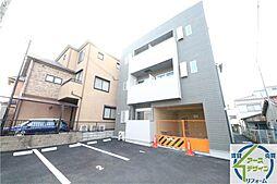兵庫県明石市西新町1丁目の賃貸アパートの外観