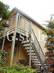 東京都武蔵野市中町1丁目の賃貸アパートの外観