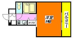 アベニューリップル長田パートII 507号室[5階]の間取り