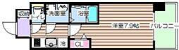 レジュールアッシュ福島フィーノ[3階]の間取り