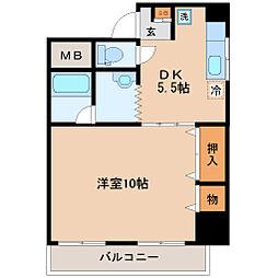 ファーストパレス仙台[2階]の間取り