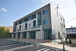 大阪府八尾市沼4丁目の賃貸アパートの外観