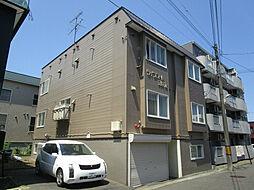 北海道札幌市東区北二十七条東17丁目の賃貸アパートの外観