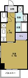Laforte[11階]の間取り