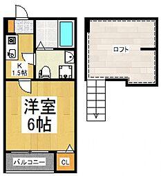 Fairy東村山[1階]の間取り