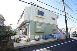 東京都江戸川区松本1丁目の賃貸アパートの外観