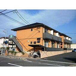 愛知県一宮市木曽川町黒田一ノ通りの賃貸アパートの外観