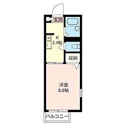 マ・メゾン[201号室号室]の間取り