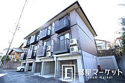 愛知県豊田市上原町西山の賃貸アパートの外観