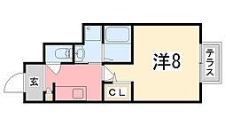 中八木駅 5.5万円