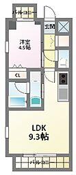レオングラン新大阪レジデンス[11階]の間取り