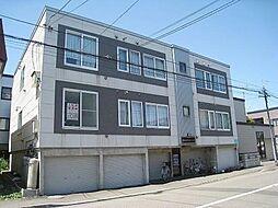 北海道札幌市東区北十五条東10丁目の賃貸アパートの外観
