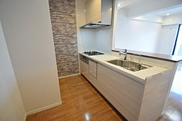 対面キッチン、食洗機付