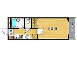 アルビーコート[3階]の間取り