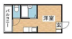ひめだるま荘[1階]の間取り