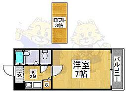 メゾンドTANAKA[3階]の間取り