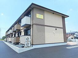 JR東北本線 郡山駅 バス10分 横塚2丁目東下車 徒歩3分の賃貸アパート