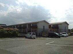 滋賀県東近江市横溝町の賃貸アパートの外観