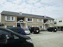 京都府久世郡久御山町佐山双置の賃貸アパートの外観