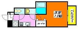 ラ・フォーレ長田 102号室[1階]の間取り
