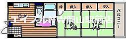 片山マンション[7階]の間取り