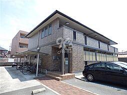 兵庫県明石市二見町西二見駅前の賃貸アパートの外観