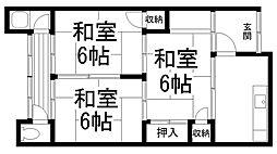 [テラスハウス] 大阪府寝屋川市大利元町 の賃貸【/】の間取り