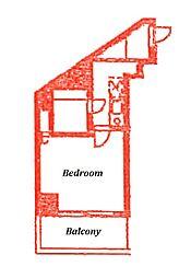 興和ガーデンヒルズ[2階]の間取り