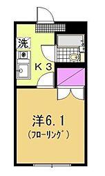 ハウス1009[104号室]の間取り
