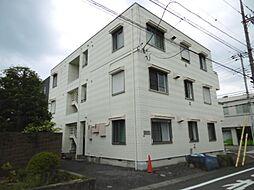 東京都八王子市中野上町4丁目の賃貸アパートの外観