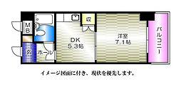 ライオンズマンション京橋川公園[205号室]の間取り