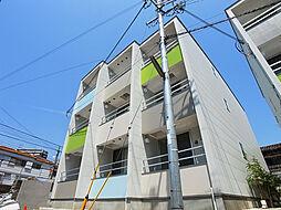 兵庫県神戸市須磨区北町3丁目の賃貸アパートの外観