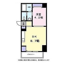 北海道札幌市東区北九条東3丁目の賃貸マンションの間取り