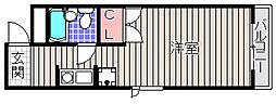 大紘ビル[2階]の間取り