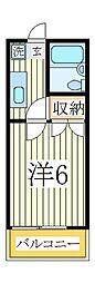 メゾン・リュミエール2[2階]の間取り