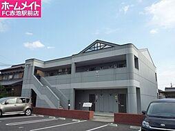 愛知県日進市米野木町福成の賃貸アパートの外観