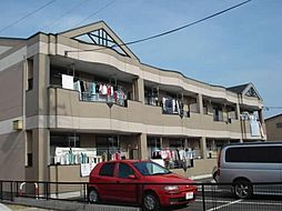 愛知県一宮市浅井町尾関字清山の賃貸アパートの外観