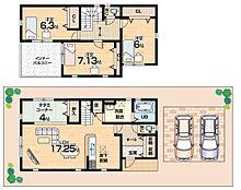 畳コーナーあり・全居室収納付