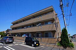 埼玉県熊谷市箱田の賃貸アパートの外観