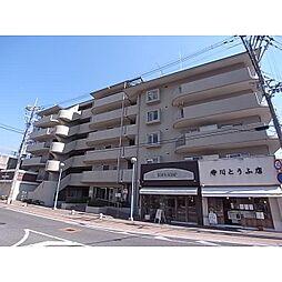 奈良県生駒市中菜畑1丁目の賃貸マンションの外観