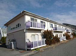 長野県茅野市ちのの賃貸アパートの外観