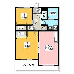 アートレータ[1階]の間取り