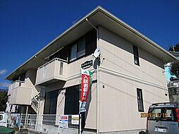 神奈川県秦野市東田原の賃貸アパートの外観