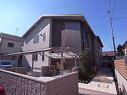 大阪府羽曳野市高鷲8丁目の賃貸アパートの外観